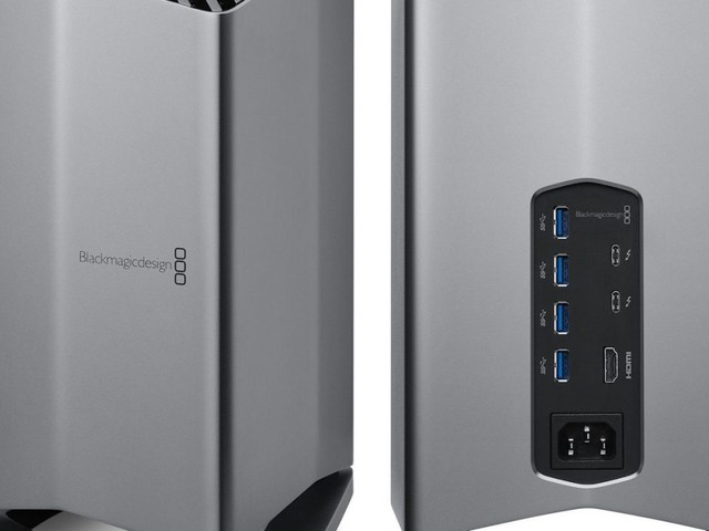 Le Pro Display XDR d'Apple maintenant géré par Blackmagic pour ses eGPU