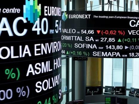 La Bourse de Paris termine en baisse de 0,40%