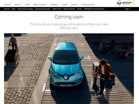 La Renault Zoé n'est plus proposée avec la location de batterie au Royaume-Uni