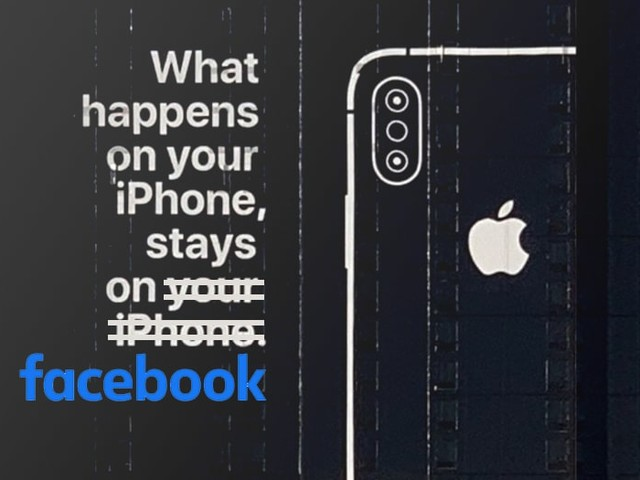 Facebook active en permanence la caméra des iPhone