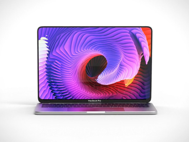 Le MacBook Pro de 16 pouces sera doté de bords d'écran ultras fins