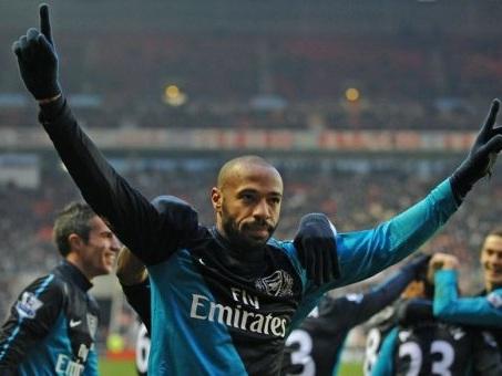 PL : Thierry Henry élu meilleur joueur étranger de l'histoire