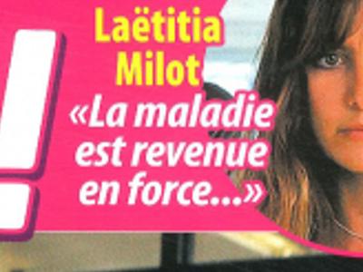 Laetitia Milot, «la maladie est revenue en force», triste confidence