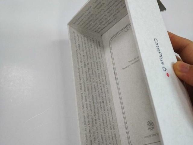 OnePlus 6T : un leak de photos révèle la présence d'un capteur d'empreinte sous l'écran et d'une encoche en forme de goutte d'eau