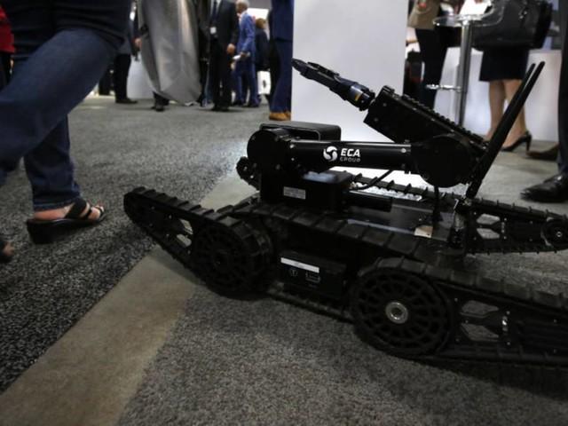 56 microrobots Nerva vont équiper l'armée française