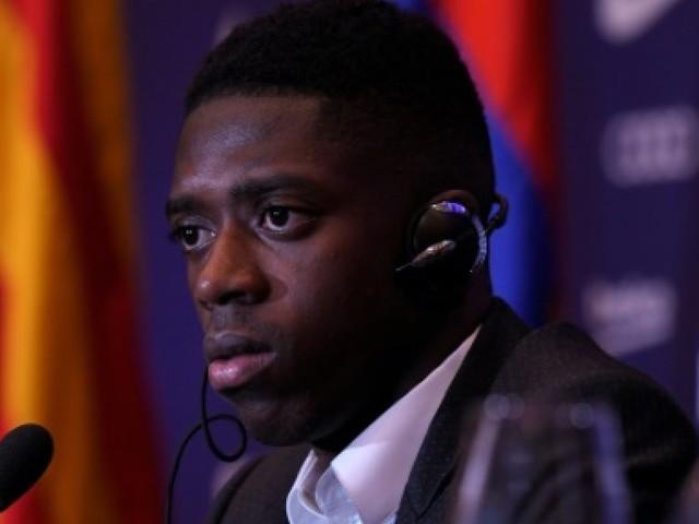 Transfert/Espagne: Dembélé présenté au Barça, dans l'ombre de Neymar