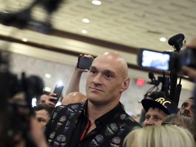 Boxe: Tyson Fury en quête d'une ceinture mondiale