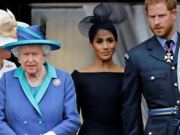 """""""Megxit"""": réunion de crise de la famille royale autour d'Elizabeth II"""