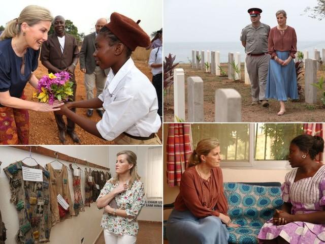 Sophie de Wessex, les plus belles photos de sa visite en Sierra Leone