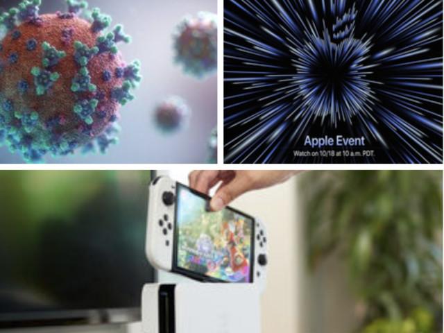 Vers la fin des tests PCR, la keynote d'Apple approche, la Nintendo Switch OLED déjà en rupture de stock, le récap' de la semaine