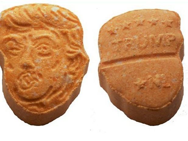 5000 pilules d'ecstasy à l'effigie de Donald Trump saisies en Allemagne