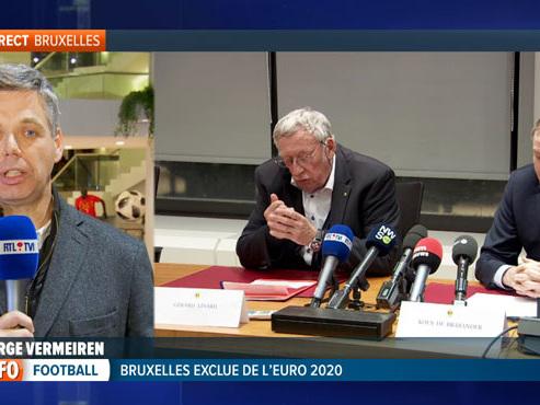 Pas de matchs à Bruxelles, capitale de l'Europe, pendant l'Euro 2020: quelle image pour la Belgique?