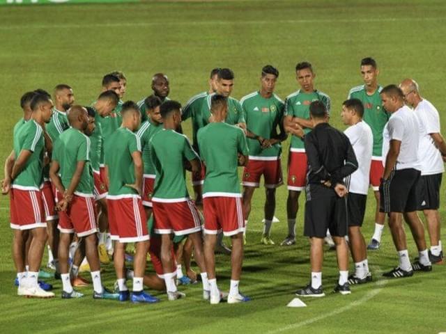Football : le Maroc domine la Guinée 3 à 0