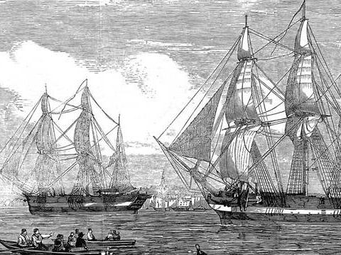 Canada: Des images inédites de l'épave d'un navire englouti il y a 170 ans dans l'Arctique