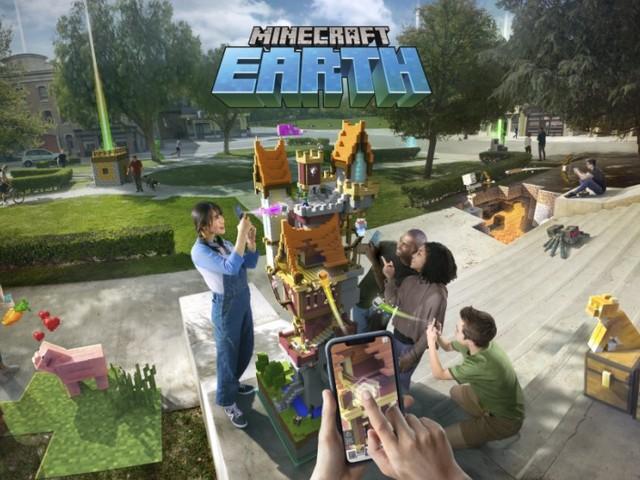 Microsoft lève le voile sur son nouveau jeu Minecraft