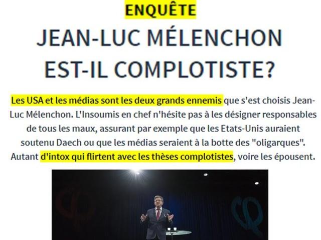 [Mélenchon Baching] Pierre Plottu, France Soir et le complotisme
