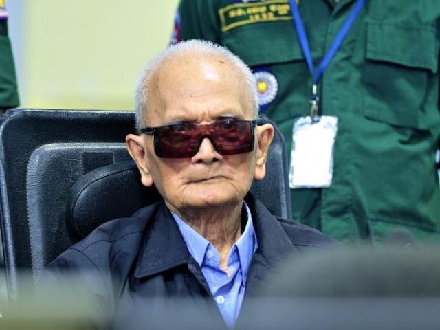 Cambodge: l'idéologue et numéro 2 des Khmers rouges Nuan Chea est mort