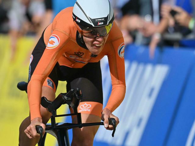 Mondiaux de cyclisme: van Dijk gagne le chrono dames huit ans après