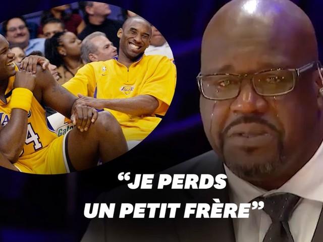 Shaquille O'Neal prend la parole après la mort de Kobe Bryant