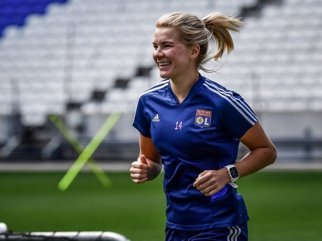 D1 : Ada Hegerberg de retour à l'entraînement avec l'Olympique Lyonnais
