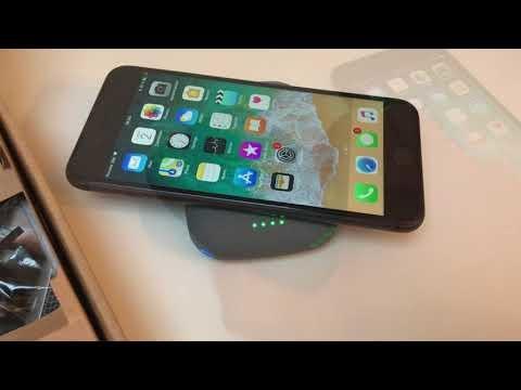 Test de la batterie portable avec recharge sans-fil : QiStone+ compatible Qi pour iPhone 8, X (vidéo)