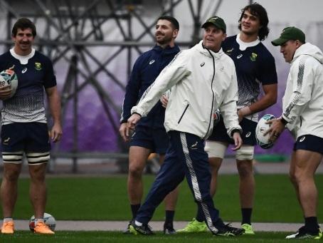Mondial de rugby: les Springboks fidèles à leurs classiques