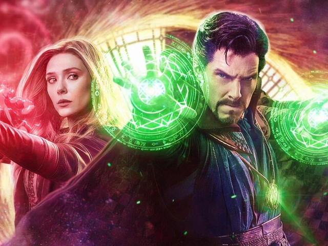 Doctor Strange 2 : Scarlet Witch et Stephen Strange font équipe sur un superbe poster fan-made