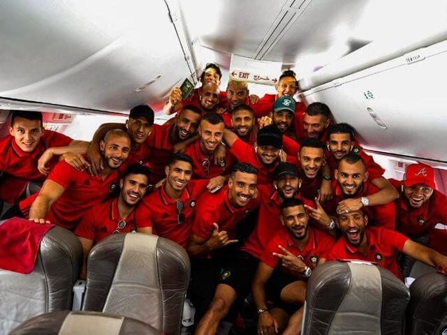 Can 2019 : départ de l'équipe du Maroc pour l'Egypte (vidéo)