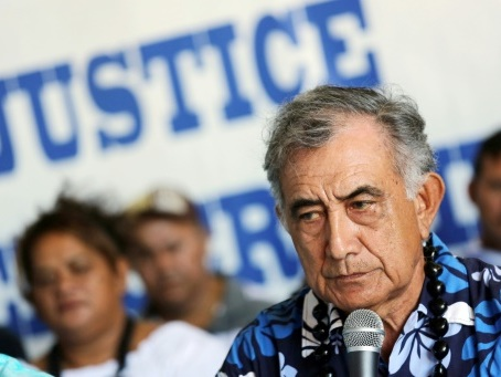 Polynésie: Oscar Temaru condamné à 6 mois de prison avec sursis pour prise illégale d'intérêts