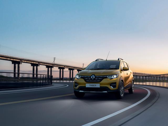 Les photos du Renault Triber, plus petit qu'un Captur, il peut accueillir 7 adultes