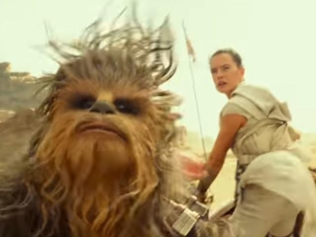 """Un extrait inédit de Star Wars IX l'Ascension de Skywalker : """"maintenant ils volent !"""""""