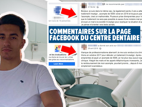 Yalçin paie 500 euros d'acompte pour un traitement dentaire à Mons: deux ans plus tard, il est toujours sans nouvelle
