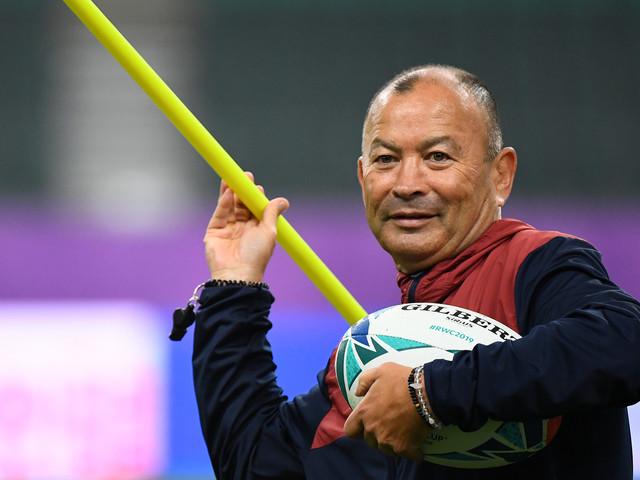"Mondial de rugby: ""rhinocéros"", ""samouraï""; côté anglais, Eddie Jones aussi assure le show"