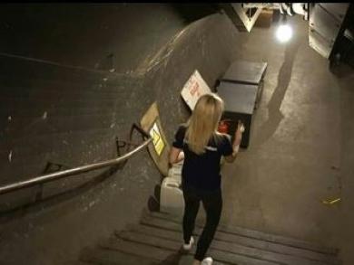 Chauves-souris et brocoli: plongée dans les stations fantômes du métro de Londres