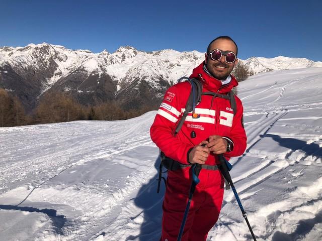 Auron : J'ai testé pour vous la balade en raquettes avec Julien, moniteur de ski spécialisé