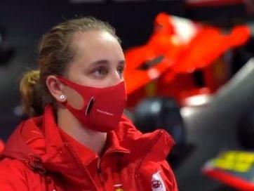 Première fille à intégrer l'école des pilotes Ferrari, Maya Weug ambitionne de courir un Grand Prix