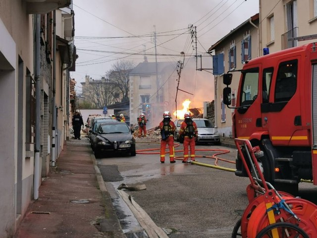 À Limoges, l'explosion d'une maison fait quatre blessés