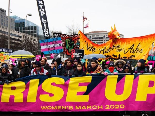 """Dernière """"Marche des femmes"""" avant l'élection présidentielle américaine"""
