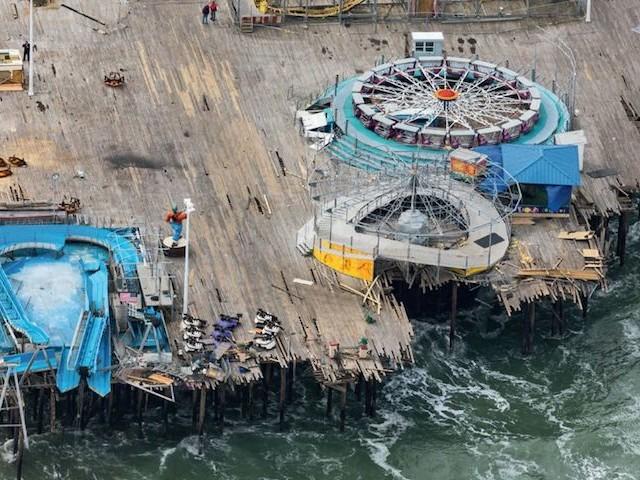 """Alex MacLean : """"L'élévation du niveau de la mer est irréversible"""""""