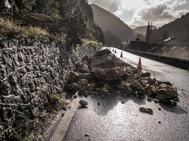 Tempête Gloria dans Pyrénées-Orientales : la RN 116 rouverte à la circulation ce mardi