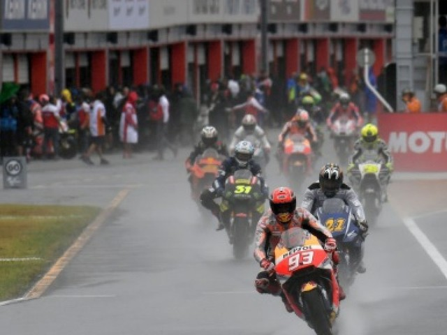 Moto: Marquez en mission sur le lieu de deux de ses sacres