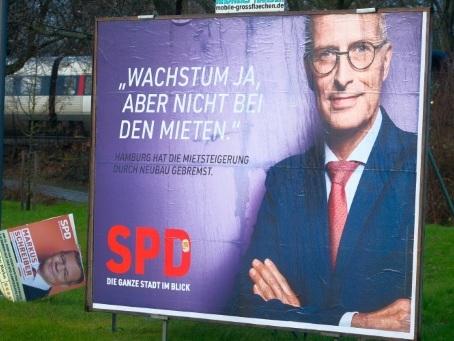 A Hambourg, les sociaux-démocrates prêts à contenir la vague Verte