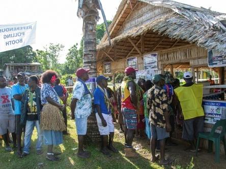 Papouasie: fin du référendum sur l'indépendance de l'île de Bougainville