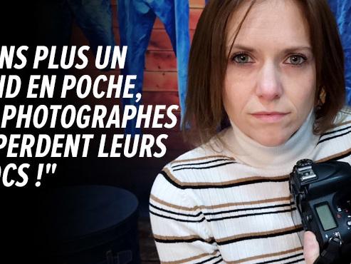 Krystal, indépendante, photographie nouveaux-nés ou mariés: son activité est quasi nulle, elle espère une aide comme lors du 1er confinement