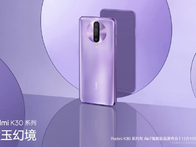 Xiaomi Redmi K30 5G : quadruple capteur arrière et écran 6,67 pouces au programme
