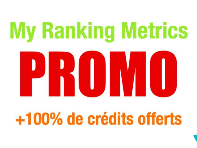 Prix d'un audit SEO avec My Ranking Metrics