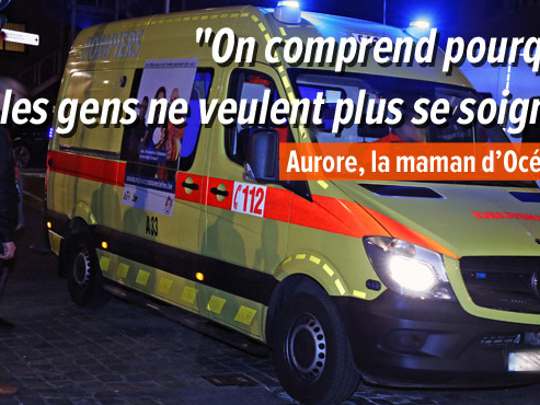 """Le transfert en ambulance de sa fille lui coûte près de 800 euros: """" C'est impossible de trouver 800 euros comme ça, par magie"""""""