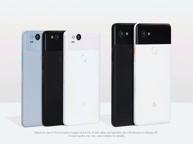 Google Pixel 2 et Pixel 2 XL : l'annonce des représentants d'Oreo