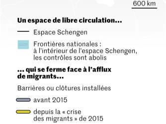 Schengen: menaces sur la libre circulation