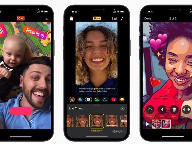 Apple met à jour l'app Clips : nouveau design, meilleur support iPad/iPhone 12 et plus